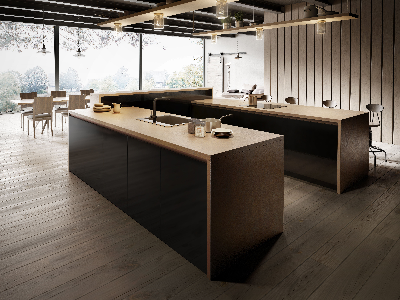 ferro-bronze-milieu2-german-kitchen - German Kitchens